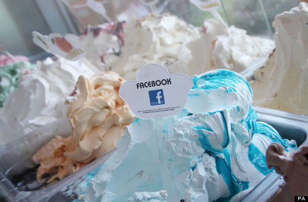 sorvete facebook